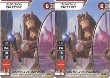 Star Wars Destiny - GUNGAN WARRIOR 2x Alternate Art Promo NM/MINT