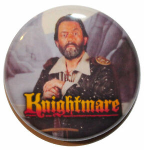 """1"""" (25mm) Knightmare 80's TV Show Button Badge Pin - High Quality"""