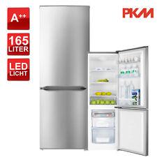 Kühlschrank Kühl-Gefrierkombination A++ PKM KGK178.4A++IX 178 Liter LED