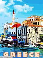 307595 Greece Greek Isles Islands Isle Europe European Travel PRINT POSTER CA