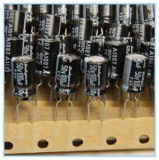 (20pcs) 100uf 50v Rubycon Electrolytic Capacitor 50v100uf YXF Low impedance
