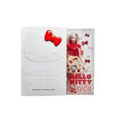 Signature Hello Kitty Barbie Doll Handbag Bow Bracelet & Figurine