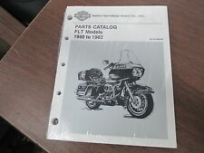 Harley Davidson Parts Catalog 1980 1981 1982 FLT Models 99438-82