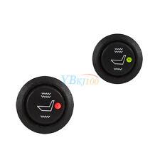 2Pcs 12V Car Seat Heater Switch 3 Pin Round Heated Rocker Toggle Control Hot GW