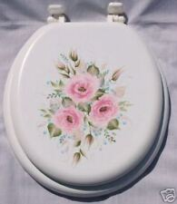 HP ROSES/TOILET SEAT/PINK/ROBINS EGG BLUE/NEW ITEM/WOW