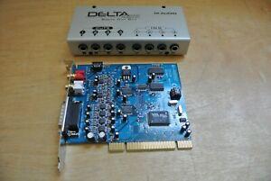 M-AUDIO DELTA 66 PCI SOUND INTERFACE CARD W/4x4 BREAKOUT BOX