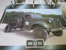 Super trucks militaire camion usa GMC ACK 353, 1940