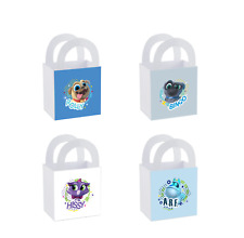 8 Disney Jr Puppy Dog Pals Birthday Party Favor Small Bag Goodie Label Box Treat