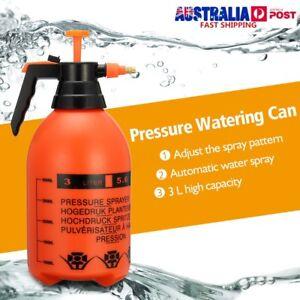 3L High Pressure Water Sprayer Chemical Spray Garden Pump Weeds Killer Tool NEW