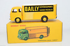 "RARE DINKY TOYS SIMCA CARGO ""BAILLY DEMENAGEMENT"" MINT IN BOX"