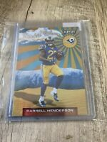 2019 Panini Playoff Darrell Henderson Rookie Wave RC #22 Los Angeles Rams