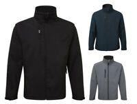Mens Soft Shell Fleece Lined Waterproof Windproof Outdoor Work Jacket Top