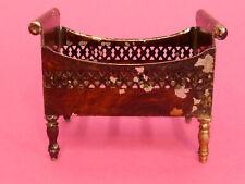 Rock & Graner Biberach Kinderbett ca 1890 handlackiert Blech original Top selten