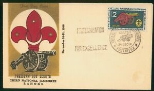 MayfairStamps Cover 1960 National Jamboree Boy Scouts Pakistan 1960 First Day Co