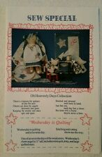 "Sew Special Oh Heavenly Days Collection ""Wednesday is Quilting"" Craft Pattern UC"