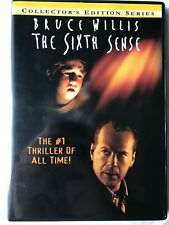 New listing Sixth Sense (Dvd 2000/1999 Hollywood Pictures) Bruce Willis, Haley Joel Osment