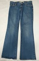 GAP Womens Ankle Stretch Blue Medium Wash Low Rise Bootcut Jeans Size 4