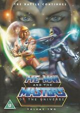 DVD / HE-MAN AND THE MASTERS OF THE UNIVERSE / VOLUME TWO / ENGLISCH
