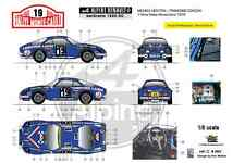 [FFSMC Productions] Decals 1/8 Alpine A110 1600SC Michèle Mouton, MC '76