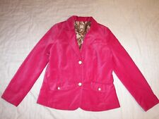 Women's Old Navy Pink Velour Blazer Jacket - Jrs. L