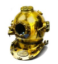 Antique Brass Scuba Diving Nautical Helmet | Maritime Ship's Decorative Helmets