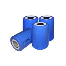 2-9 Batterie ricaricabili Sub C per articoli audio e video