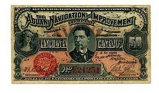 Honduras ... P-S101 ... 50 Centavos ... 1886 ... *F+*