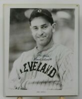 Earl Averill Signed 8x10 Photograph Autograph Cleveland Indians