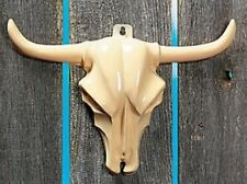 Pack of 4 - Steer Head Wall Decorations - Great Western Cowboy Party
