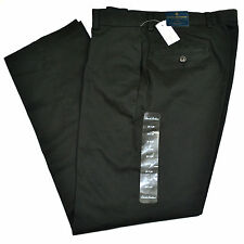 NWT BROOKS BROTHERS Clark Advantage Chino Flat Front Black Pants Sz 32 x 30