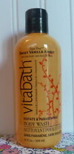 VITABATH - SWEET VANILLA AMBER - SPA DAY BODY WASH 12 OZ SHOWER GEL
