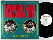 V/A - Where The Action Is! LA Nuggets Highlights 2xLP - Rhino Ltd. Mono VG++