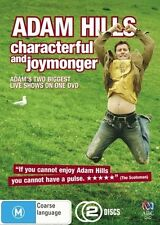 Adam Hills : Characterful and Joymonger - (2-Disc Set) - NEW DVD - Region 4