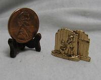 Miniature Dollhouse Bookends / Tom Sawyer