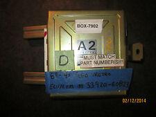 89 90 91 GEO METRO ECU/ECM #33920-60B23 *see item description*