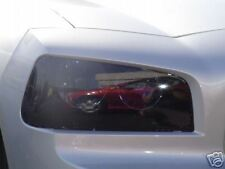 06-10 DODGE CHARGER SMOKE HEAD LIGHT PRECUT TINT COVER SMOKED OVERLAYS