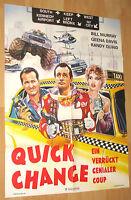 """Ein verrückt genialer Coup """"Quick Change"""" Filmplakat / Poster A1 ca 60x84cm"""
