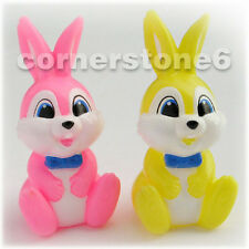 ~ Japan - SS pharmacy - RABBITs - promotion finger puppets * set of 2