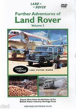 Further LAND ROVER Vol 3 DVD - films from 1955-64 * NEW
