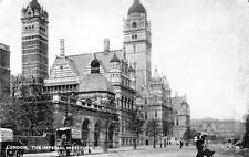 London the Imperial Institute unused pc Tuck Silverette 1808