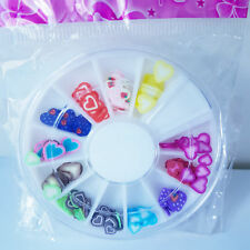 HOT!! Brand New Nail Art Wheel with Heart Designs for Nail Technicians Art, UK!!