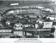 Renault R8 Factory Production Line Automation Press Photograph Foto Excellent