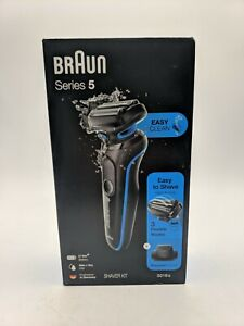 Braun Series 5 5018s Wet & Dry Shaver - Blue