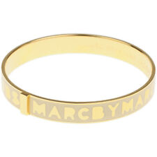 Marc By Marc Jacobs Logo Bangle Gold/Cream M3PE609-80028 MSRP $68