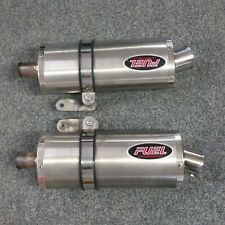 Fuel Exhausts for Triumph 1050 Speed Triple. Good Used Condition