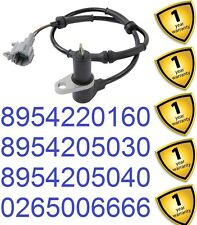 Toyota Avensis 1.6 1.8 VVTi 1997-03 Front Right ABS Sensor 8954205030 8954220160