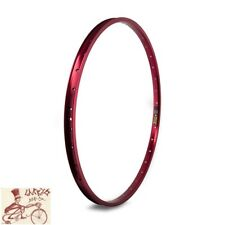 "SUN RINGLE RHYNO LITE XL 36H---29""  RED BICYCLE RIM"