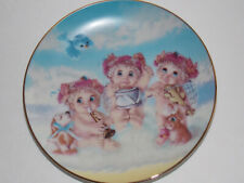 "Hamilton Collection - ""The Recital"" Dreamsicles Collection Plate - 1995"