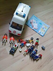 Playmobil Krankenwagen mit Zubehör Polizei