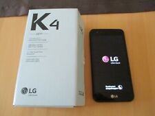 LG K4 (2017) schwarz Dual-sim Android Smartphone